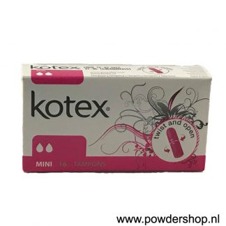 Kotex Mini 16 Tampons